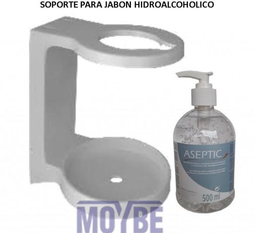 Soporte Para Jabón ASEPTIC Hidroalcoholico
