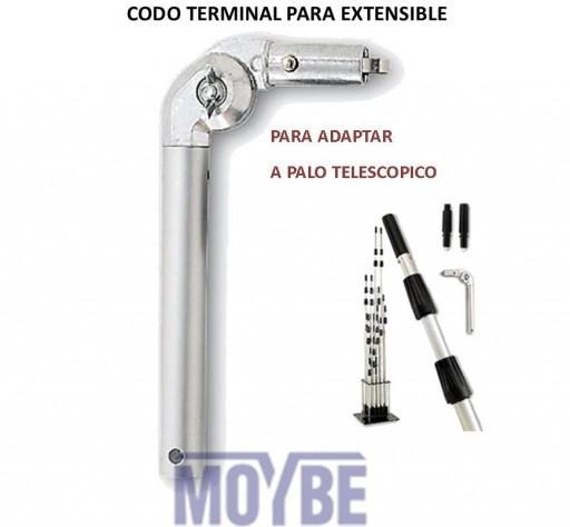 Codo Articulado Terminal Aluminio Extensible [0]