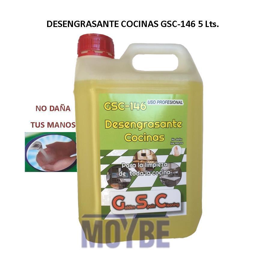 Desengrasante Cocinas No Daña Las Manos GSC-146 5 Litros