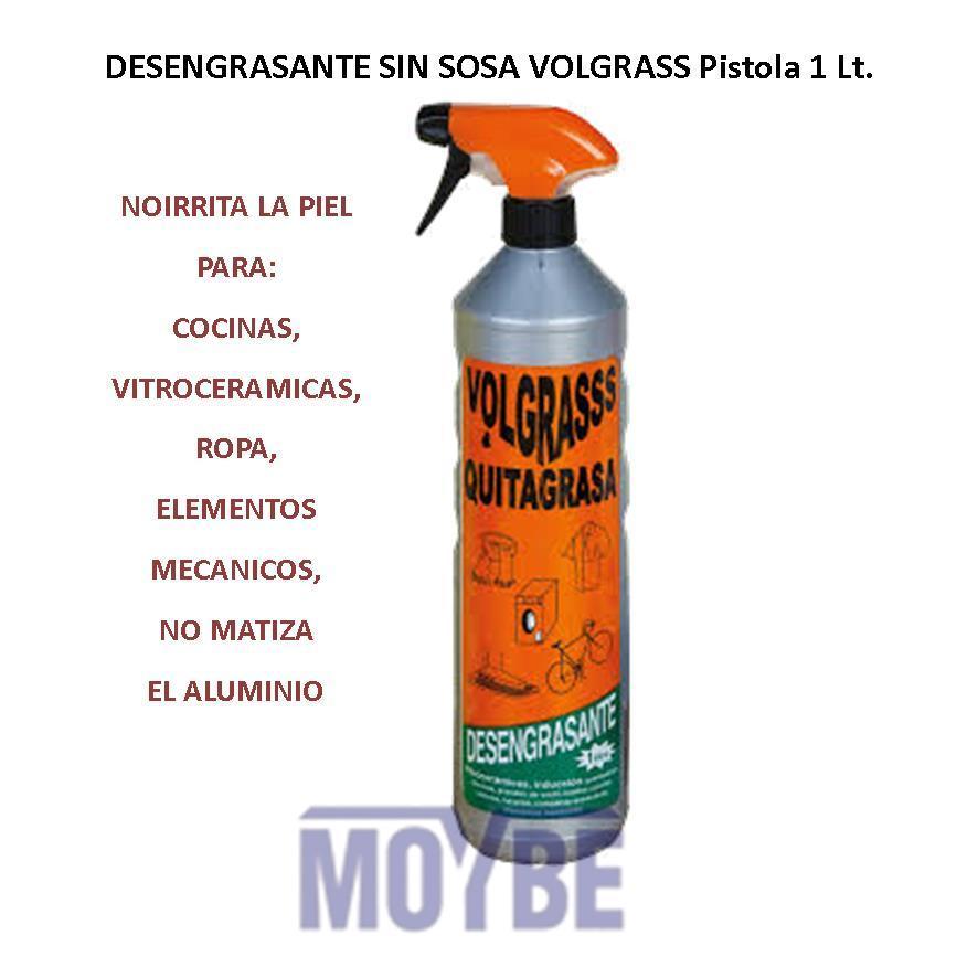 Desengrasante Sin Sosa VOLGRASSS Pistola 1 Lt.