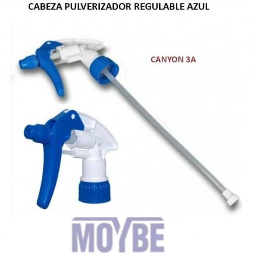 Cabeza Pulverizadora CHS-3AN Azul