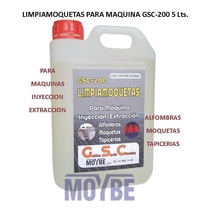 Limpia Moquetas Inyección Extracción GSC-200 5 Litros
