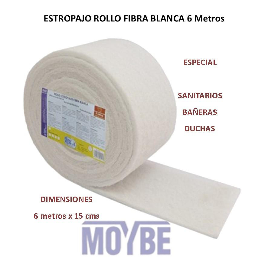 Estropajo Rollo Blanco 600x15