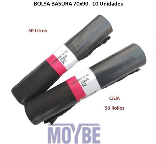 Saco de Basura Negro 70x90 (10 Unidades)