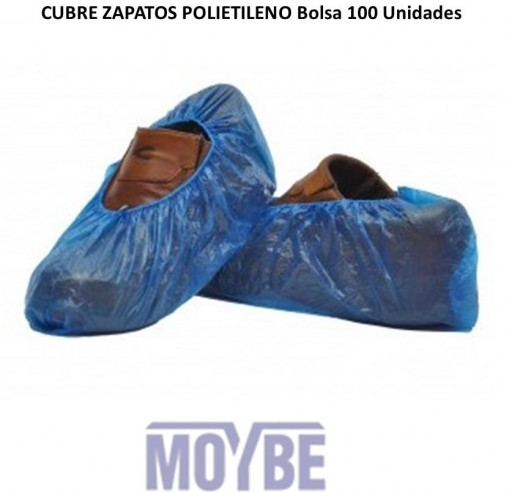 Cubre Zapatos Polietileno Bolsa 100 Unidades