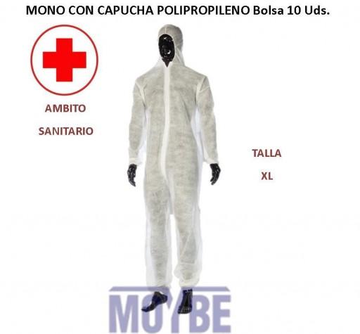 Mono Con Capucha Polipropileno Bolsa 10 Unidades [0]
