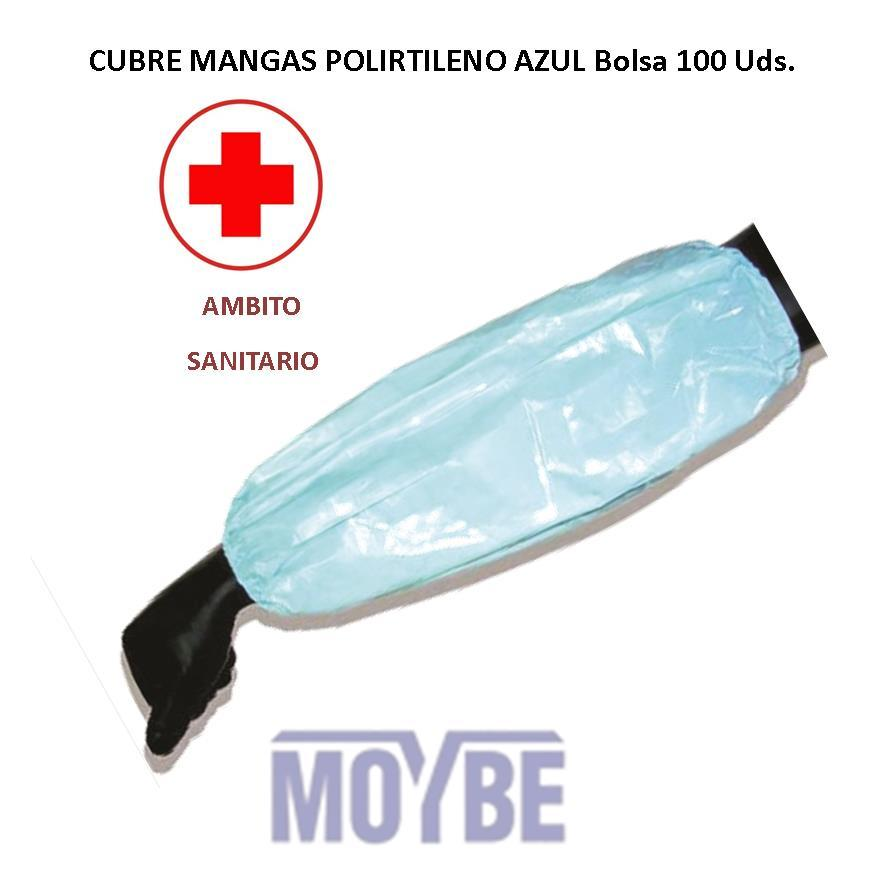 Cubre Mangas Polietileno Bolsa 100 Unidades