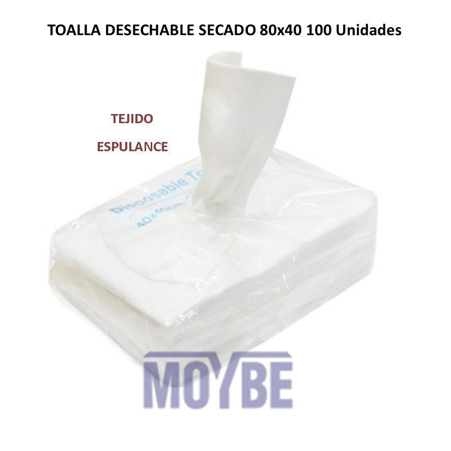 Toalla Secado ESPULANCE Blanca 80x40  100 Unidades