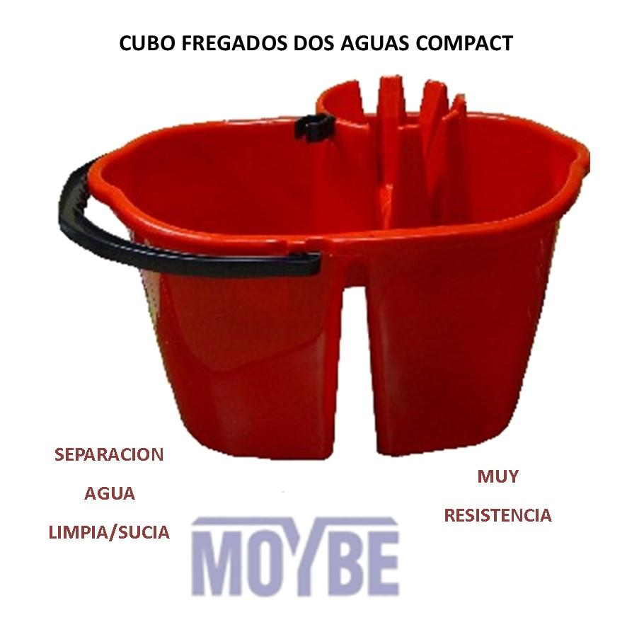 Cubo Fregado Dos Aguas COMPACT