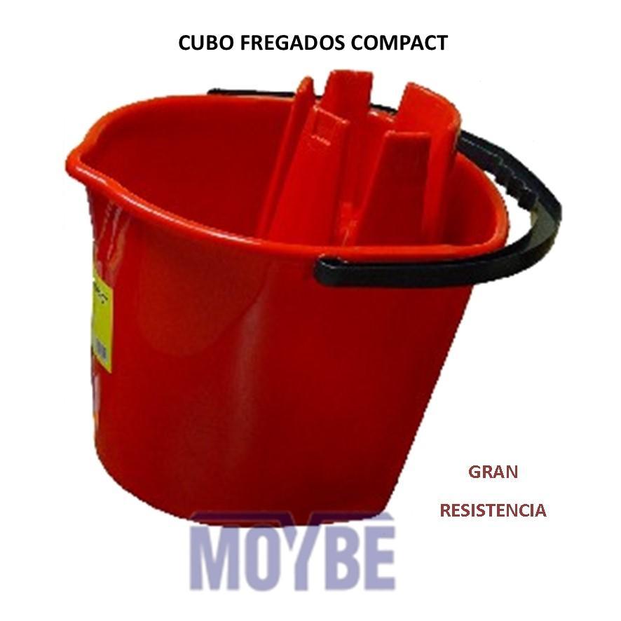 Cubo Fregado Escurridor Incorporado COMPACT