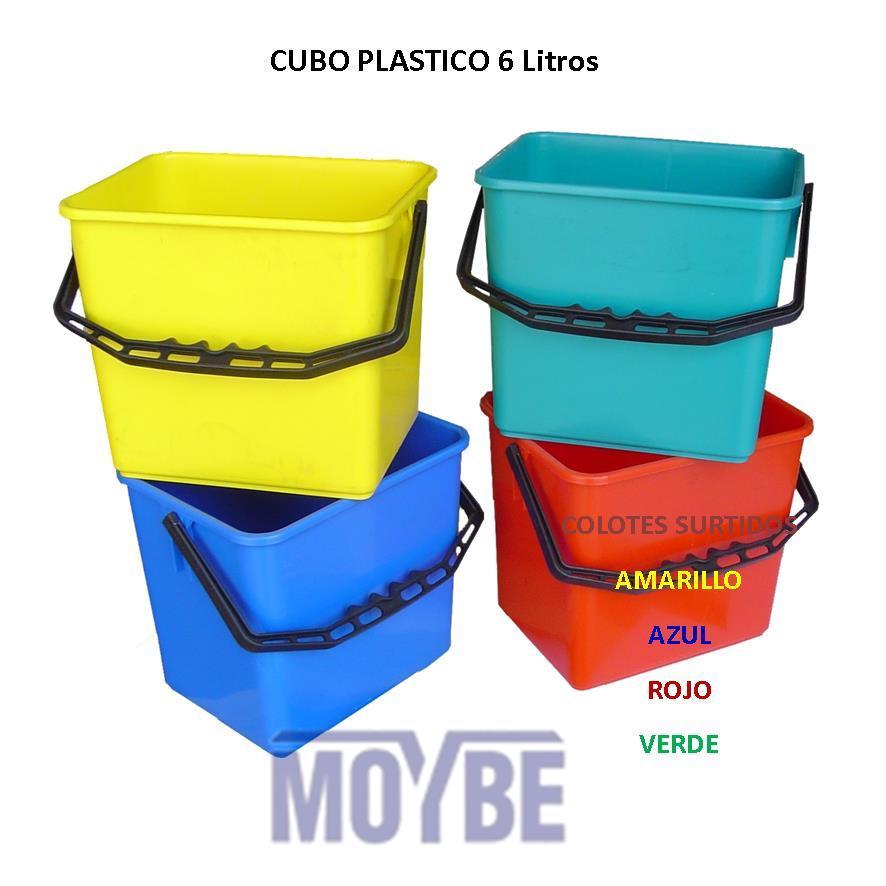 Cubo Plástico (6 litros)