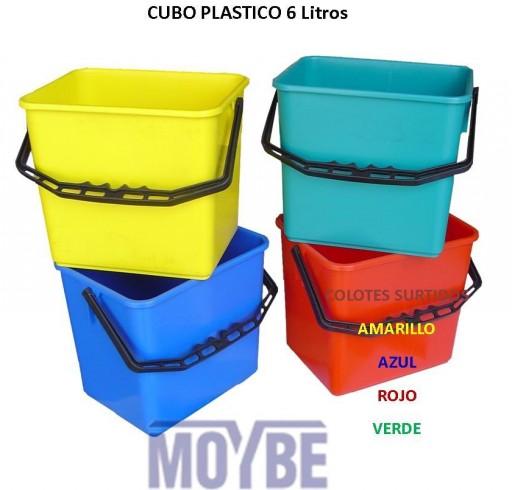 Cubo Plástico (6 litros) [0]