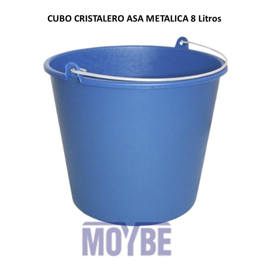 Cubo Cristalero Liso (8 litros)