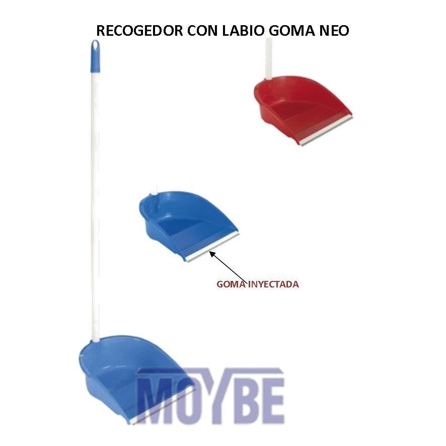 Recogedor Alto con Rosca y Goma NEO