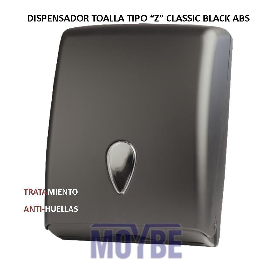 "Toallero Tollas ""Z"" CLASSIC BLACK ABS"