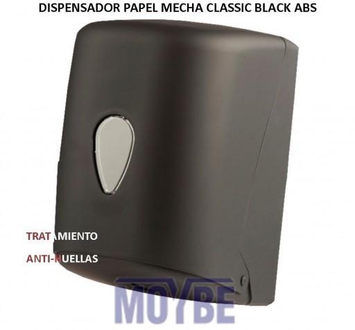 Dispensador Pepel Mecha CLASSIC BLACK ABS