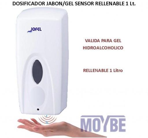 Dosificador Optico de Jabón Rellenable JOFEL AC91050