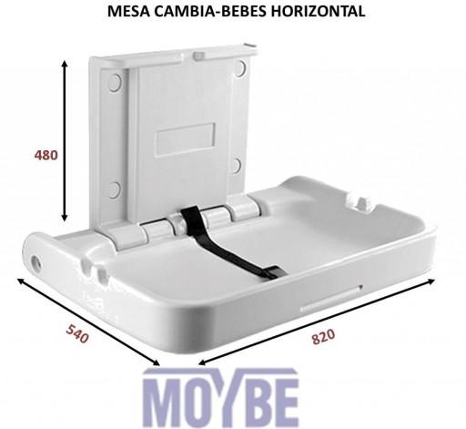 Mesa Cambiadora Horizontal BABY CONFORT [0]