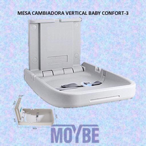 Mesa Cambiadora Vertical BABY CONFORT 3