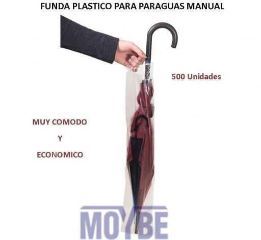 Funda Para Enfundar Paraguas Manual 500 Unidades