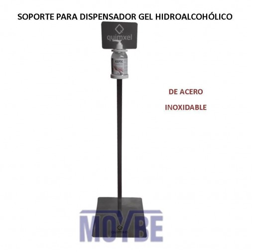 Soporte para Dispensador de Gel Hidroalcohólico QUIMXEL [1]