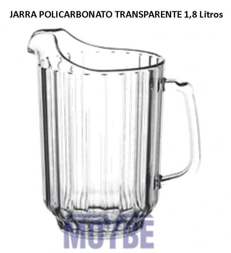 Jarra Policarbonto 1,8 Litros