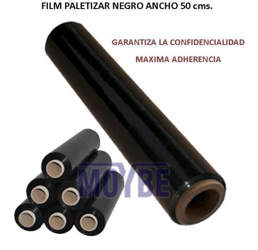 Film Paletizar Negro Ancho 50 Centímetros