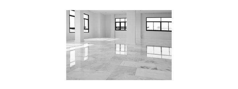 Limpiar suelos de mármol