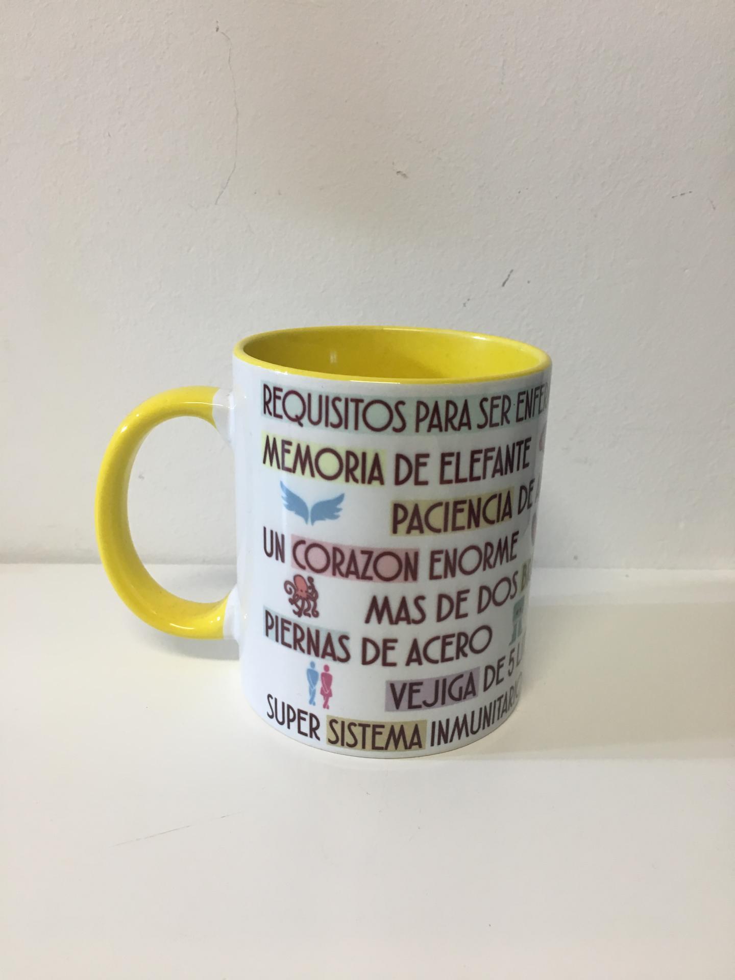 TAZA CERÁMICA PERSONALIZADA