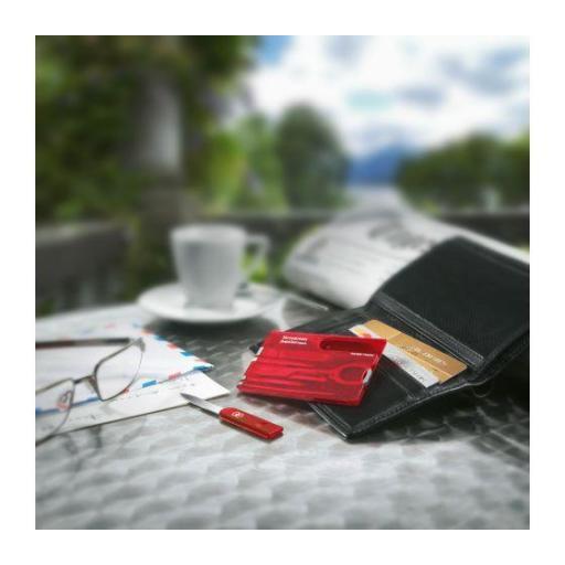 Tarjeta Multiusos Victorinox SwissCard con 10 funciones 0.7100.T [1]