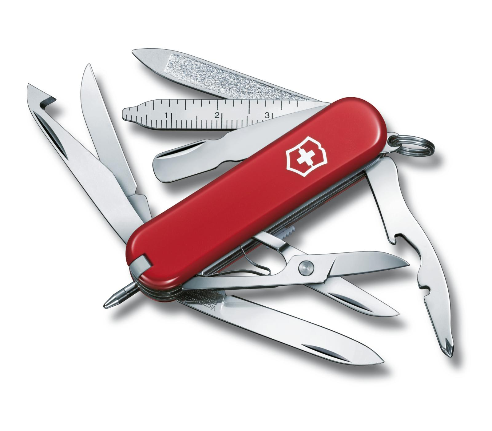 Navaja Victorinox MiniChamp de bolsillo pequeña con 18 funciones 0.6385