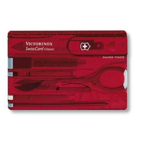 Tarjeta Multiusos Victorinox SwissCard con 10 funciones 0.7100.T