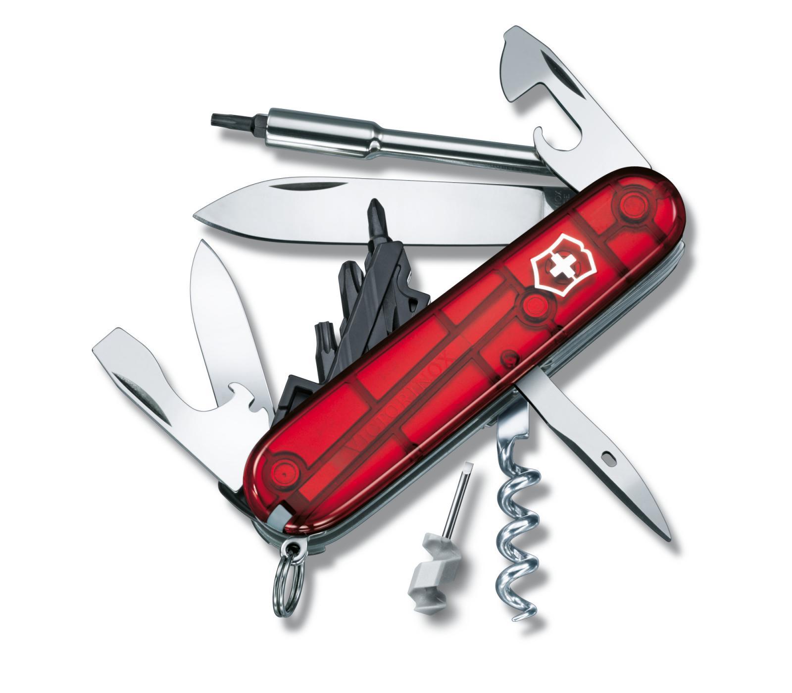Navaja Victorinox CyberTool S de bolsillo mediana con llave inglesa y llave Allen 1.7605.T