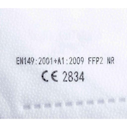 MASCARILLA AUTOFILTRANTE FFP2 BLANCA  Y NEGRA TENSIL [3]
