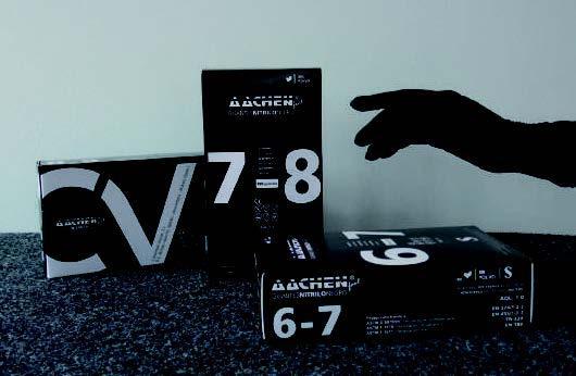 GUANTE DE NITRILO SIN POLVO AachenFeel NEGRO GNN.BLACKX.10
