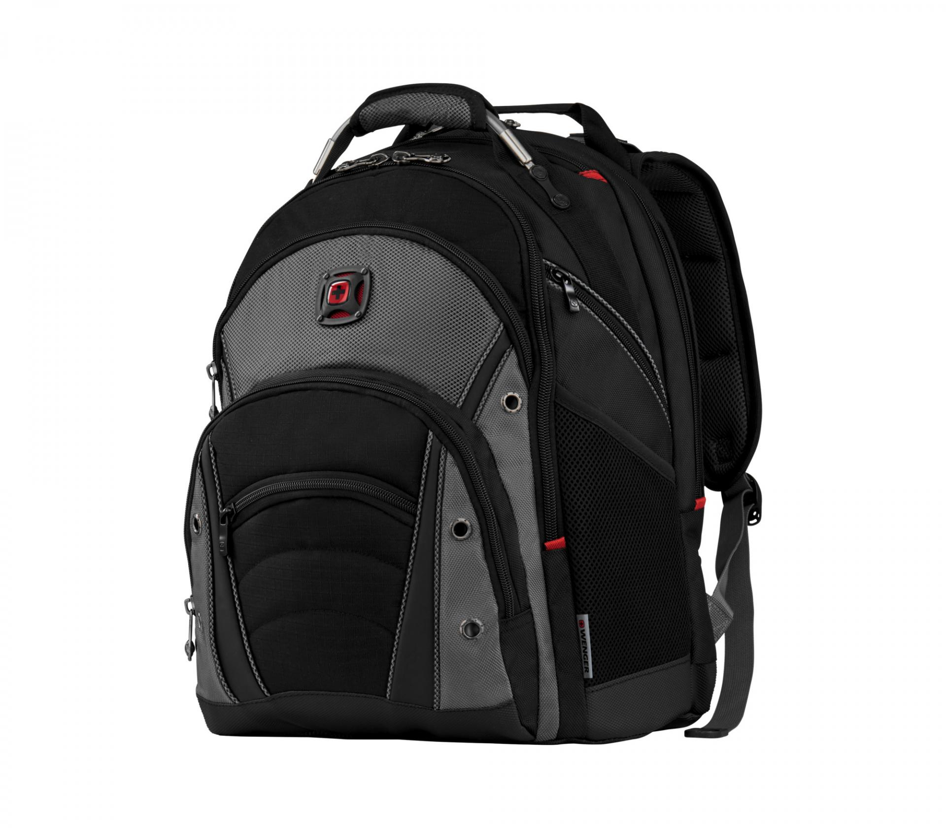 "Mochila  Wenger, Synergy 16"" Computer Backpack, Gray/Black  600635 *"