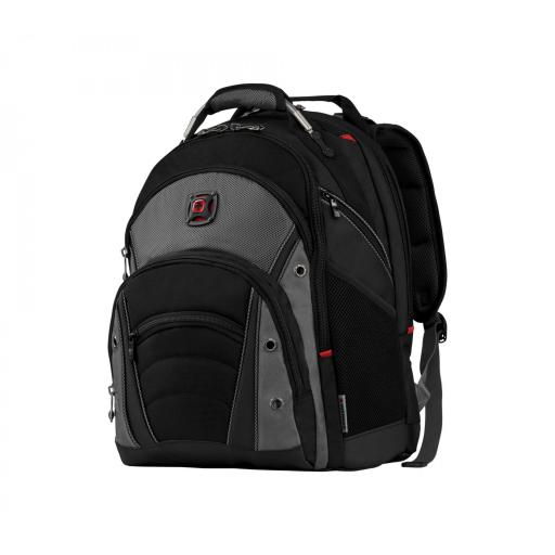 "Mochila  Wenger, Synergy 16"" Computer Backpack, Gray/Black  600635 *"