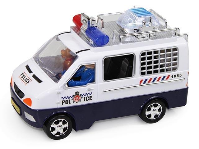 FURGON POLICIA PLAZA