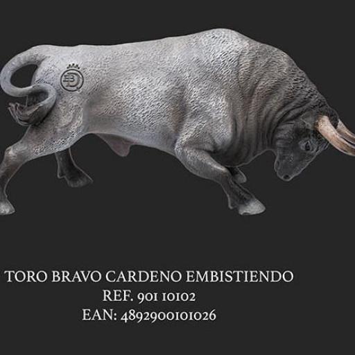TORO CARDENO CENIZOSO