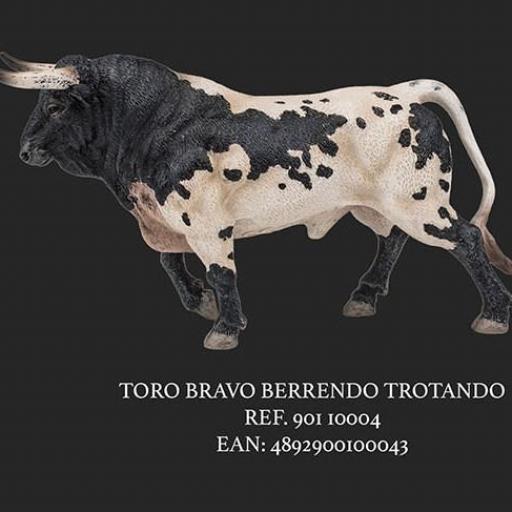 TORO BERRENDO TROTANDO