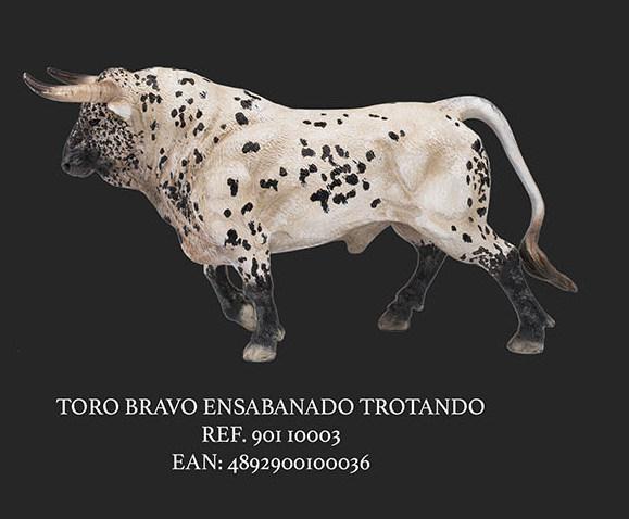 TORO ENSABANADO TROTANDO PINTAS