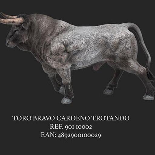 TORO CARDEÑO TROTANDO