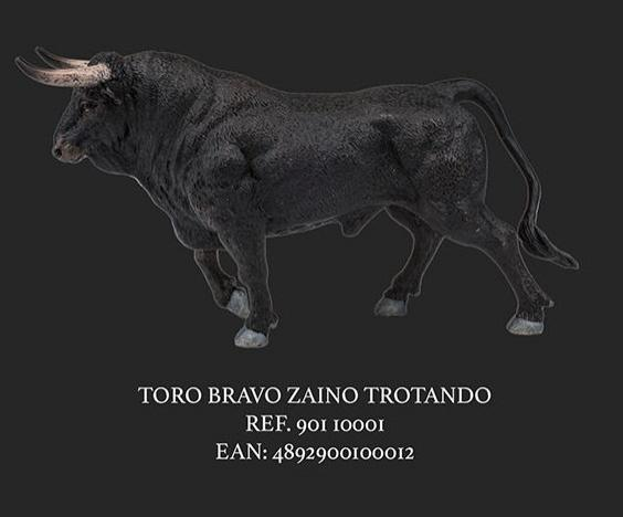 TORO ZAINO TROTANDO NEGRO