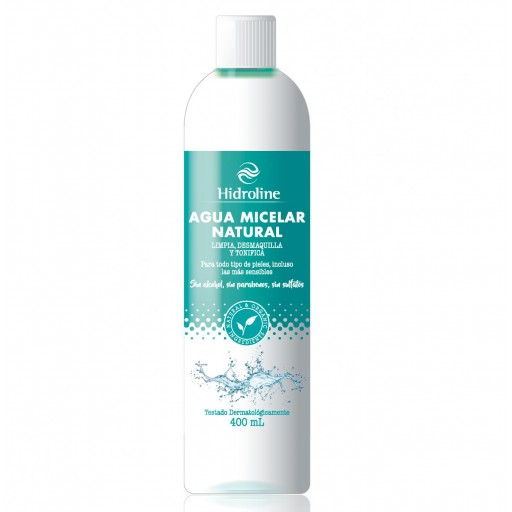 AGUA MICELAR NATURAL 400 ML