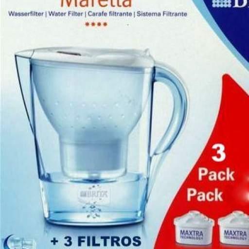 """JARRA BRITA""""MARELLA"""" 2,4 L. + 3 FILTROS [1]"""