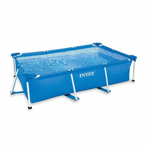 PISCINA METAL FRAME JUNIOR INTEX 300X200X75
