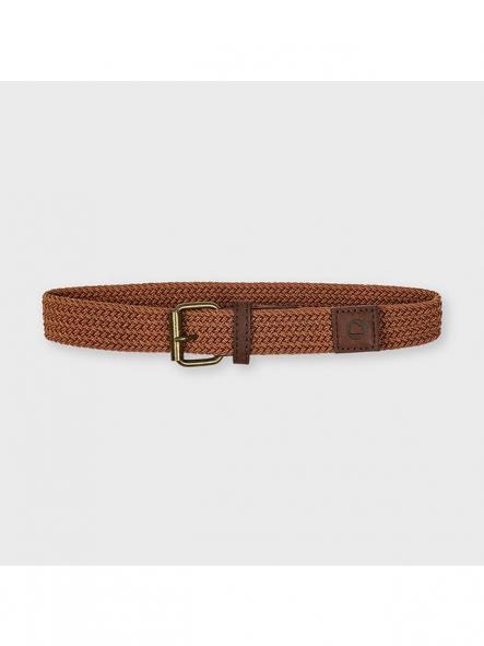 Mayoral cinturón trenzado 21-10073-015 Arcilla