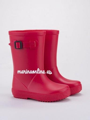 Botas de agua Splash Euri Rojo 10256-005