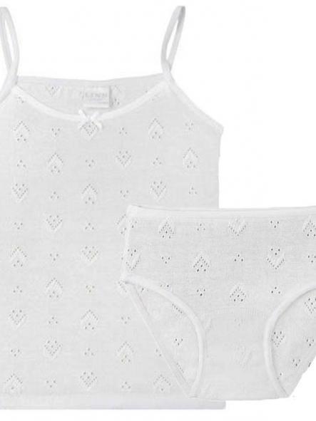 Diacar Conjunto camiseta braguita perle 401-200