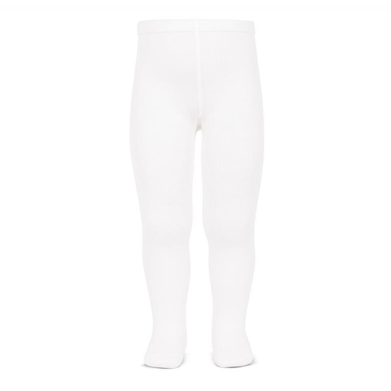 Leotardos Cóndor Punto Liso Blanco 200L